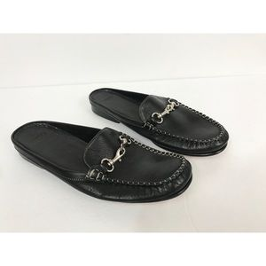 Coach Leather Mules